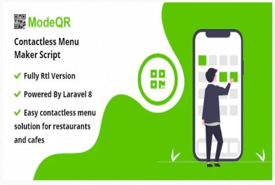 ModeQR - Contactless Menu Maker Script