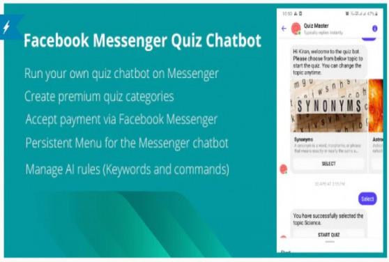 Quizy - Facebook Messenger Quiz Chatbot