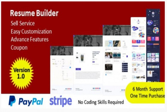 Resume Builder - Build Your Resume & Sell Your Service